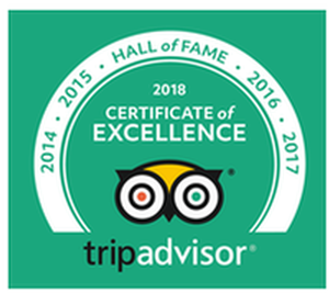 Tasting Room TripAdvisor Hall of Fame