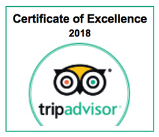 Chateau Morrisette Restaurant Trip Advisor Certificate of Excellence