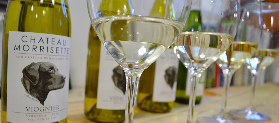 Chateau Morrisette fresh vintage white wines 2017
