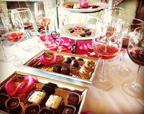 Wine & Chocolate at Chateau Morrisette