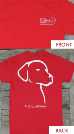 Dog Logo T-Shirt Red